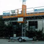 EP 3125T Platforma nacela mobile Electroelsa