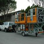 EP 3125T Platforma transportabila Electroelsa